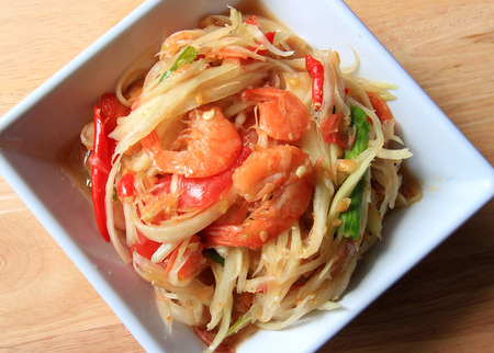 Somtam, Thai Papaya Salad photo