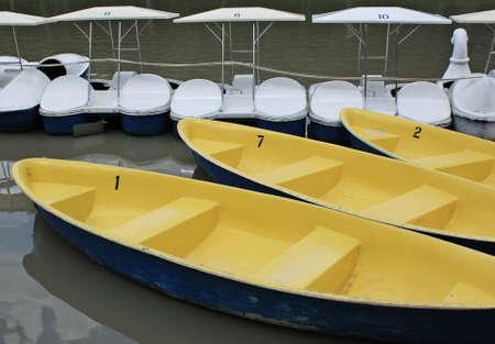 public park: barco en el parque p�blico