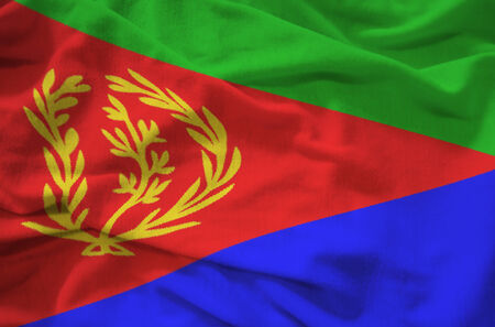 eritrea: flag eritrea