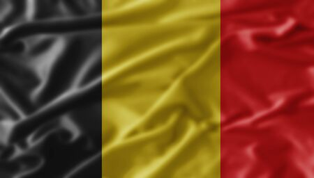 belgien: Fahne Flagge Belgien