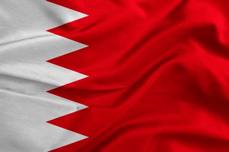 bahrain: Flag of Bahrain fabric