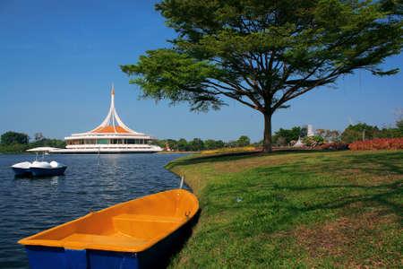rama: Royal Garden Rama IX or Suan Luang Rama 9 Public park Bangkok, Thailand