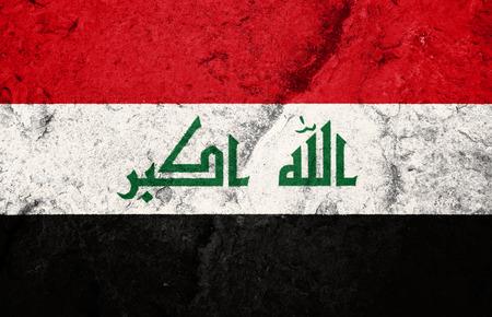 iraq conflict: Iraq, flag, Iraq flag, war, conflict, worn, distressed