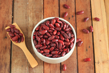 rajma: close up of a bowl of red beans