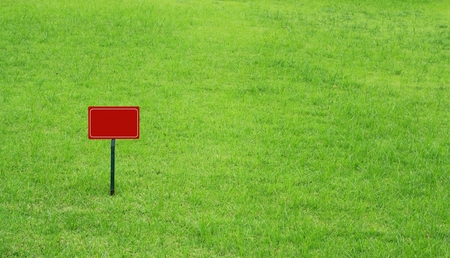 outsole: Signs on the lawn, Signs for text input