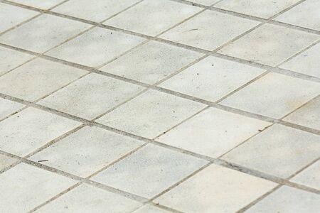 tiled floor: Tiled floor, soft focus