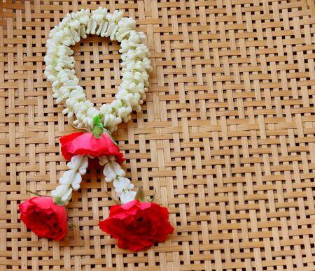 spiritualism: Thai garland colorful flower