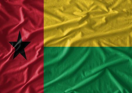 Ghana: Waving Ghana Flag