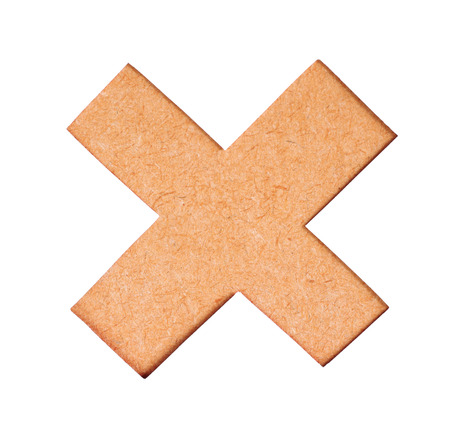 delete button: Delete button. Wrong mark icon, multiply icon sign. multiply icon symbol of wood texture on white background