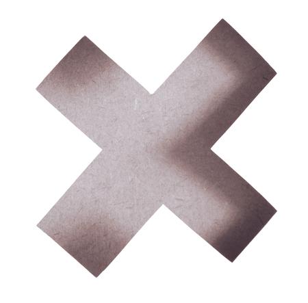 multiplicar: Falta de definición del botón Borrar. Icono de la marca equivocada, icono de la muestra se multiplican. Símbolo del icono de la textura de la madera se multiplican en el fondo blanco, tono de época