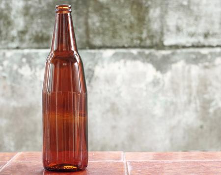 tare: glass bottle Stock Photo
