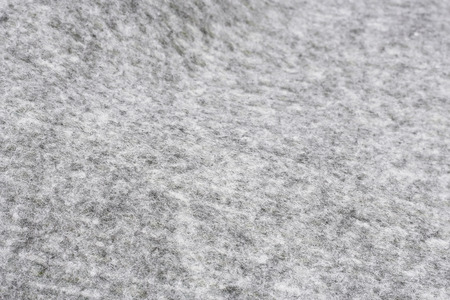 rockwool: gray synthetic polyester material, texture background.
