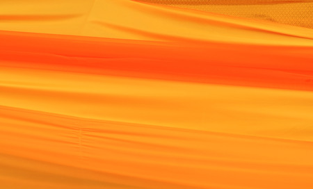 Gold silk fabric background