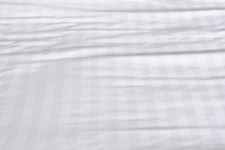 White bed sheets texture