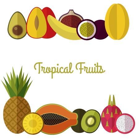 Bio-Lebensmittel-Vorlage. Gesunde Ernährung Vektor-Konzept Mit ...