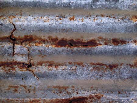 Rusty plated metal surface  Abstract background texture  photo