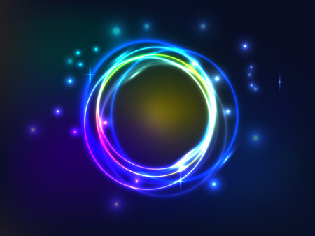 Abstract background with colorful plasma illustration Vector