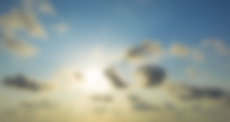 unusual abstract blue sky with white clouds blurred background
