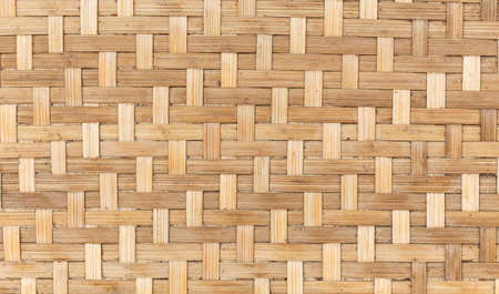 woven bamboo with natural patterns Stock fotó