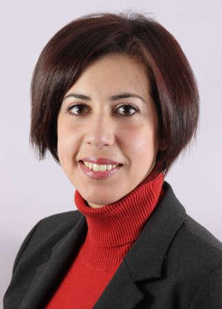 Retrato mujer ejecutiva con un chaleco Foto de archivo - 12846929