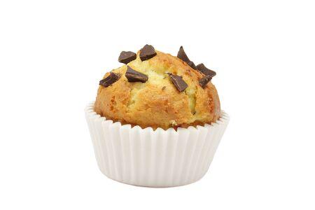 pips: Handgemaakte spons-cake met pitten van chocolade