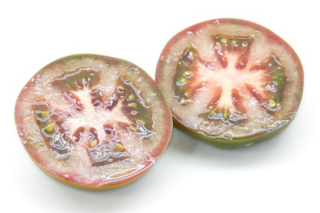 raf: Tomatoes of the variety raf cultivated of sustainable and ecological form