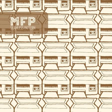 mfp: MFP seamless pattern.