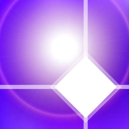 deep purple: Abstract background with blurred lights and white space for text