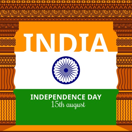 wheel of dharma: India Independence day
