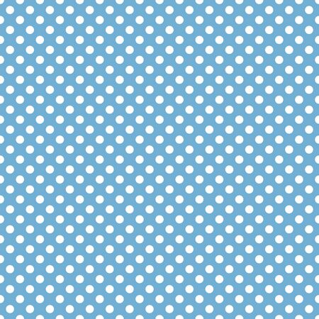 Seamless blue and white background pattern. Suitable for fabric, greeting card, advertisement, wrapping. Bright and colorful abstract spotted seamless pattern