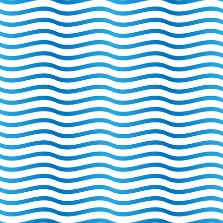 summerly: Seamless blue and white background pattern. Suitable for fabric, greeting card, advertisement, wrapping. Bright and colorful abstract ocean waves Illustration