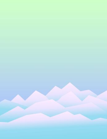 Geometric polygonal mountain landscape. Vector background of polygonal low poly mountain view. Highlands landscape, vector background for flyer, advertising, banner, ads, poster