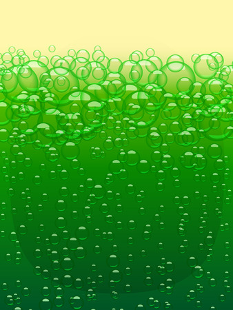 paddys day: Green beer texture. Happy St Patricks Day. Vector background design element Illustration