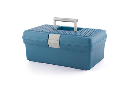 Toolbox isolated on a white background. Archivio Fotografico