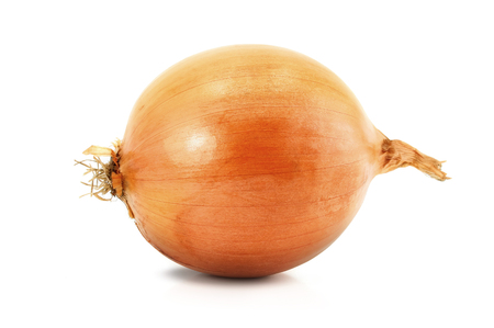 Onion isolated over a white background.