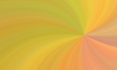 Illustration of colorful yellow orange red curvilinear waves Imagens