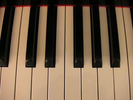 Piano Keys Stockfoto