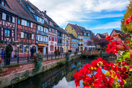The colorful village, Colmar in France