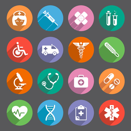physical impairment: A cute icon set with lots of healthcare themed icons. File is EPS v.10, no transparencies used.  All Icons are layered and properly labeled. Ai CS5, Hi res transparent PNG and Hi res layered and transparent PSD are included.