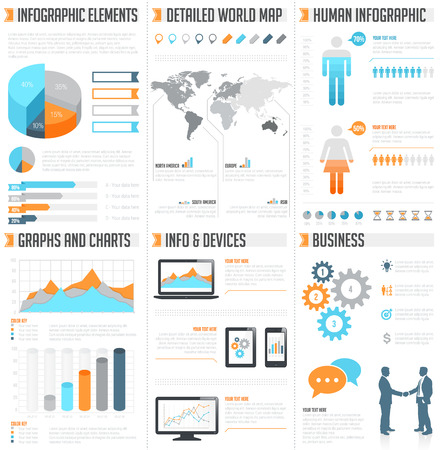 comprehensive: A comprehensive Template set for infographics