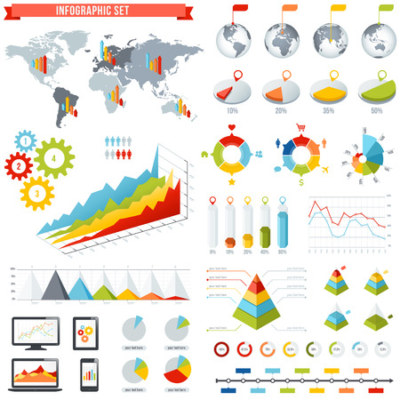 comprehensive: A comprehensive Template set for infographics.