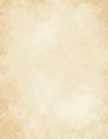 papier lettre: Une conception d�taill�e de vecteur complet tr�s �lev� pour un vieux papier de lumi�re - parchemin