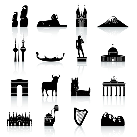 venice gondola: A high quality and detail collection of famous monuments and Culture Icons all around the world.