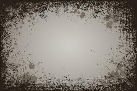 높은 세부 어두운 찾고, 수평 사각형 그런 지 프레임 모양.