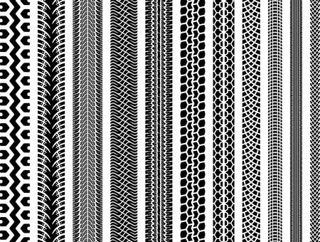 huellas de neumaticos: Una colección de once canciones originales de neumáticos altamente detallados, con motocicleta, bicicleta, coches y pistas de maquinaria pesada, así como una pista de neumáticos de invierno coche.