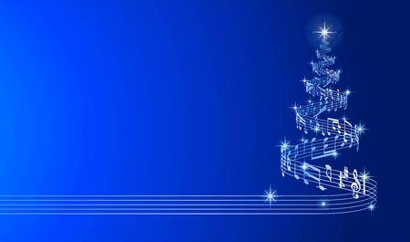 Magic Christmas Tree Glittering