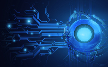 technical abstract: abstract technology background with Sphere