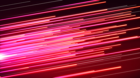 3d Speed line technolgy background ,pink