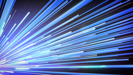 3d Speed line technolgy background , Blue