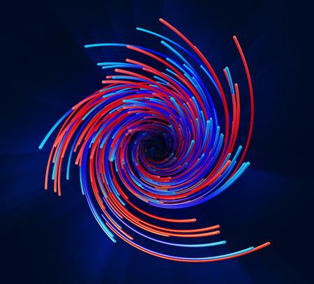 line Spiral composition Reklamní fotografie